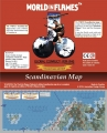 World in Flames Collector's edition Scandinavian map