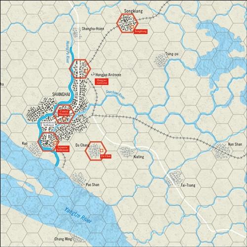 HEXASIM-World at War 42: Pacific Battles: Shanghai