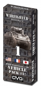 Warfighter WWII Exp 36 Vehicles Pack1