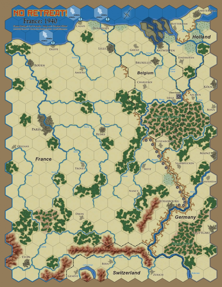 No Retreat 3  The French and Polish Fronts Spiele