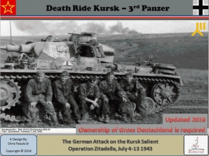 Death Ride Kursk 3rd Panzer
