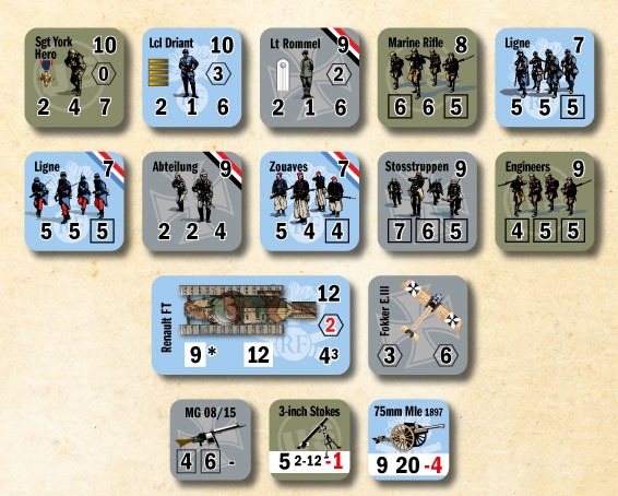 Great War Commander Counters