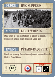 French Fate Card
