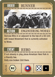 US Fate Card